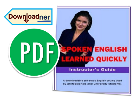 SPOKEN ENGLISH LEARNED QUICKLY FREE EBOOK