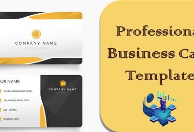 Professional Business Card Template PSD Format Download for Free. Download Photoshop Template Business Card Vector in Vertical, Square Design.