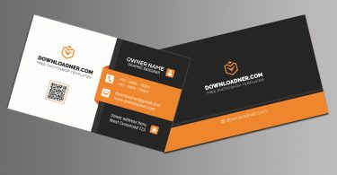 Professional Business Card Photoshop Templates Double Sided