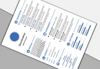 White-and-Blue-Resume-in-Design PNG