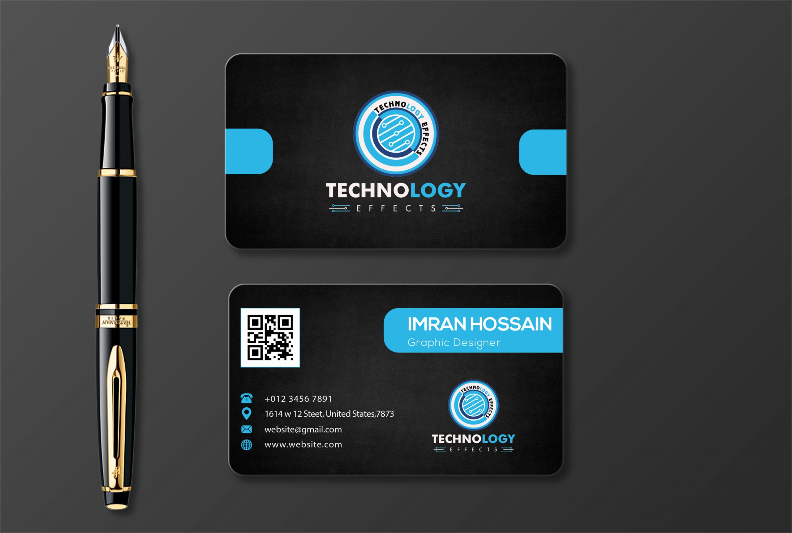 Mock-up Business Card design