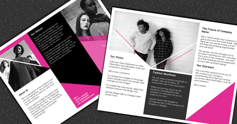 Fashion Brochure Featured Image