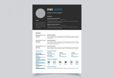 Featured Image For Resume Or CV