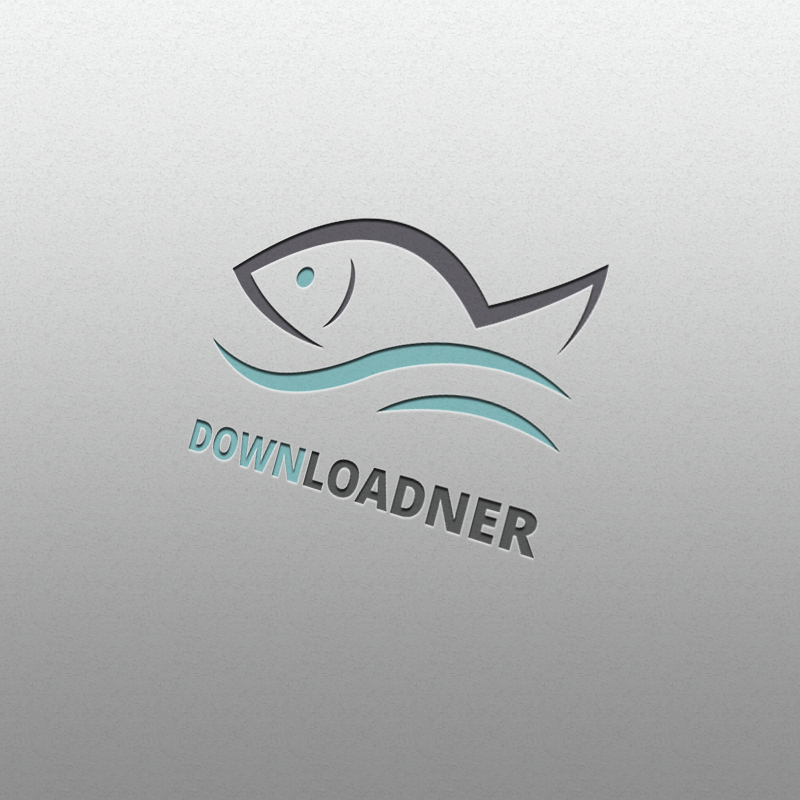 Fish Logo Mock-up Design