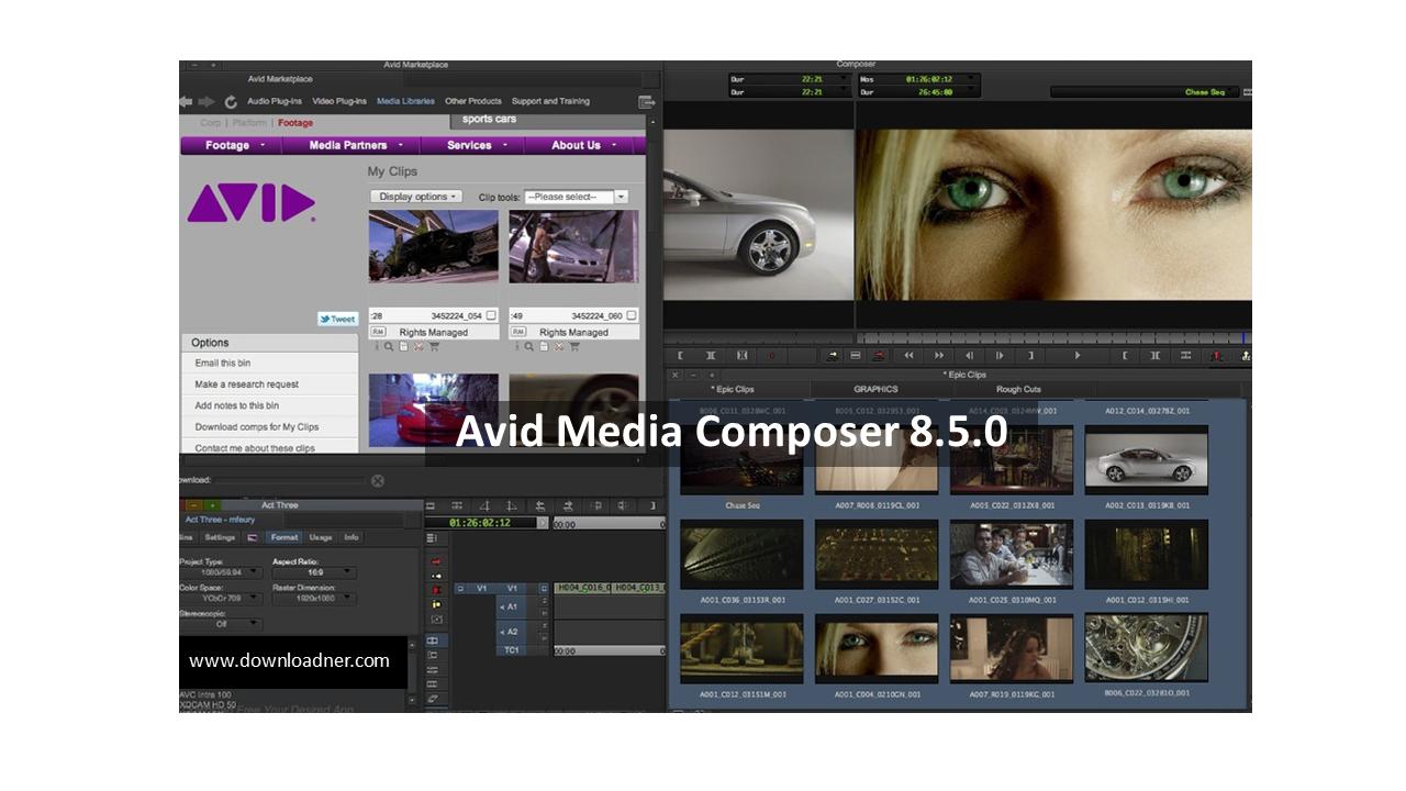 Avid Media Composer 8.5.0 2nd image